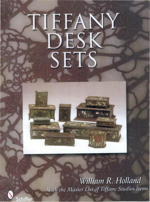 tiffany book on desk set pieces    hollandarts