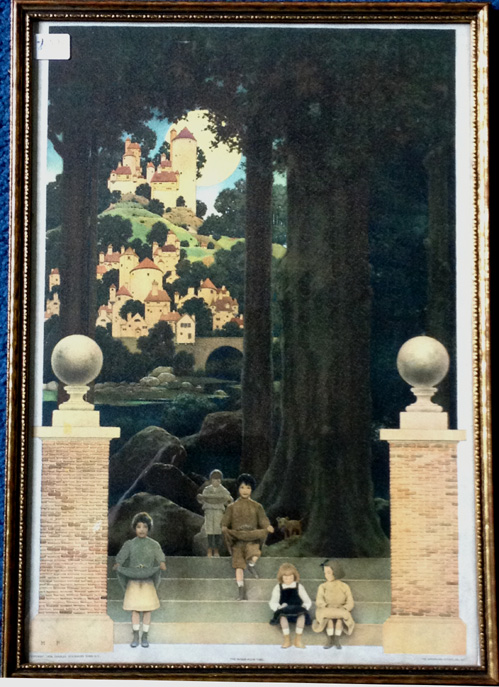 Holland Arts Maxfield Parrish Inventory Louis Icart
